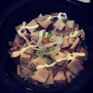 つゆだくチャーシュー丼(らーめん比内亭 郡山店 )