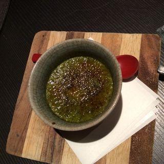 お抹茶ブリュレ(五十松)