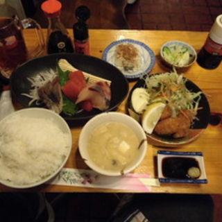 上刺身定食(カフェダイニング セブン (cafe dining seven))