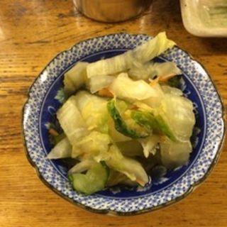 白菜の浅漬け(大御所酒坊 )