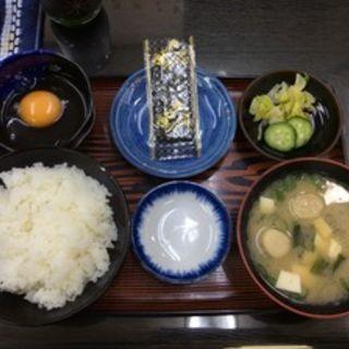 朝定食(三和食堂 )