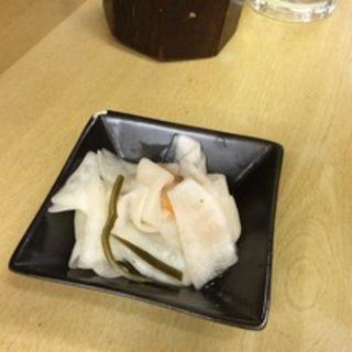 かぶらの酢の物(赤ひげ 姉妹店 (あかひげ))