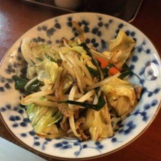 野菜炒め(まる笑 )