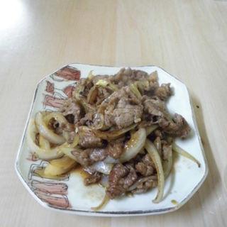 牛肉炒め(立ち呑みフレッシュ 2号店 )
