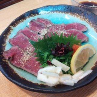 牛肉のタタキ(笑多 )