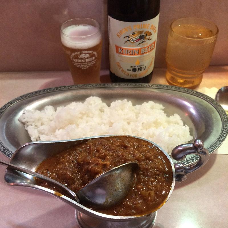 インドカレーとご飯