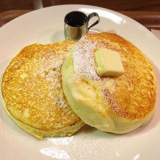 メープルバターパンケーキ(CAFE lx)