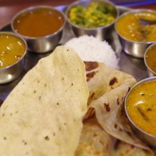 Aランチセット(アーンドラ・キッチン (Andhra Kitchen))