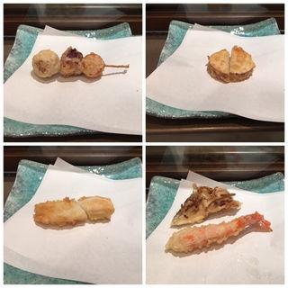 芋タコ南京、長芋、烏賊、舞茸、海老(日本料理 「源氏」 ヒルトン名古屋 (げんじ))