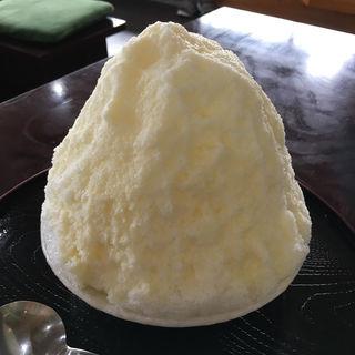 みるく氷(ほうらく堂 ドライブインほうらく 神出店 (ほうらくどう))