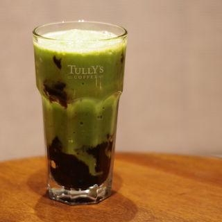 コーヒーゼリー抹茶スワークル(タリーズコーヒー グランフェスタ姫路店 (TULLY'S COFFEE))