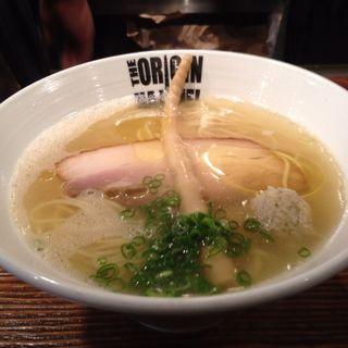 鶏塩ラーメン(らあめん 元 (HAJIME))