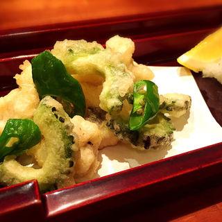 鱧の天ぷら(おさむ)