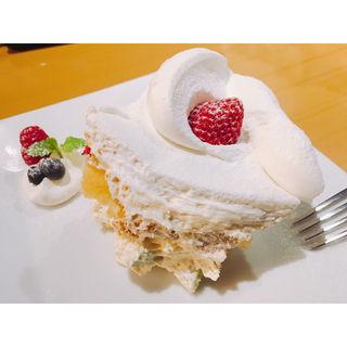 ゴルチャショートケーキ(ゴールデンチャイルドカフェ (Golden child cafe))