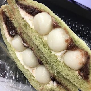 白玉小倉サンド(朝日屋 )