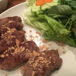 肉だんご野菜巻き(ミスサイゴンベトナム料理店 )