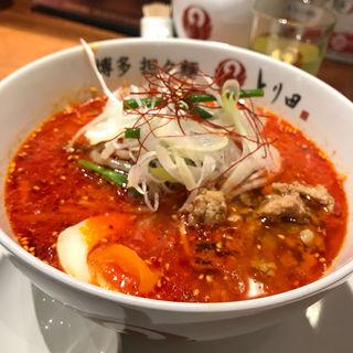 担々麺ハーフ(博多担々麺 とり田 KITTE博多店)