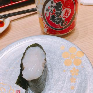富山産白えび一貫(もりもり寿司 mozoワンダーシティ店 )