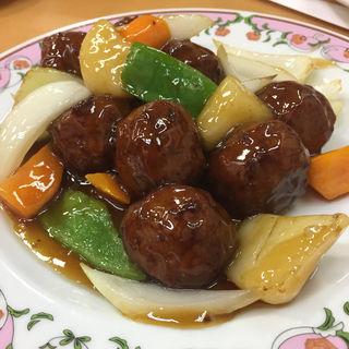 肉団子の甘酢(餃子の王将 八田寺店 )
