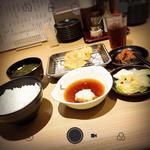 季節の天ぷら定食(博多天ぷら たかお ジョイナス横浜店 )