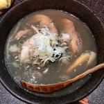 冷たい 魚三(烈志笑魚油 麺香房 三く)