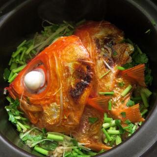 金目鯛の土鍋ごはん(太月)