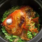 金目鯛の土鍋ごはん