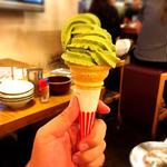 ソフトクリーム(抹茶)