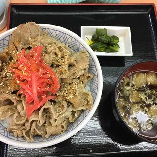 牛丼(品川23号そば店 (【旧店名】常盤軒))