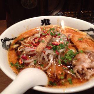 カラシビ味噌らー麺(カラシビ味噌らー麺 鬼金棒 (キカンボウ))