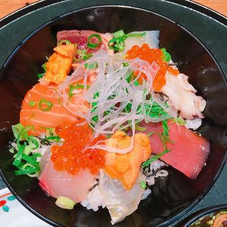 海鮮丼(鮨一花 )