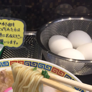ゆで玉子(武田中華そば)