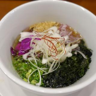 冷しつけ麺(RAMEN 風見鶏 阿倍野 (ラーメンカザミドリ))