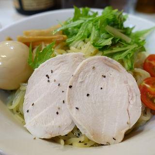 冷製胡麻ダレつけ麺〈並〉(煮干しらーめん 玉五郎阪急三番街店 )