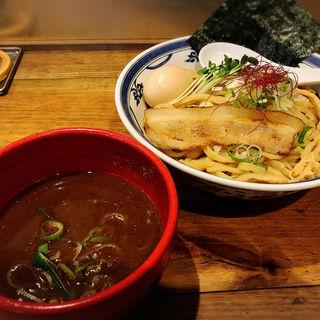 味玉つけ麺(鶏魚介)(つけ麺や 無双 中目黒駅前店)