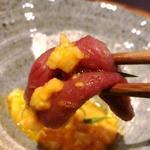 ミスジのすき焼き(京松蘭はなれ (キョウショウランハナレ))