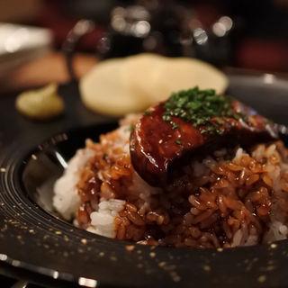 フォアグラ丼ひつまぶしスタイル(son-ju-cue (村塾))