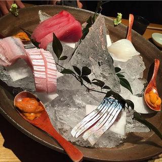 刺身盛り合わせ(魚匠 銀平 心斎橋店 (【旧店名】銀平 南店))