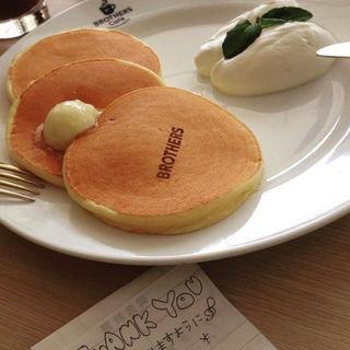 オリジナルパンケーキ(ブラザーズカフェ なんば店 (BROTHERS Cafe))