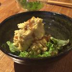 燻製玉子のポテサラ