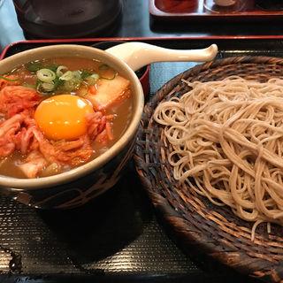 付けキムチカレー蕎麦 大盛(長生庵)