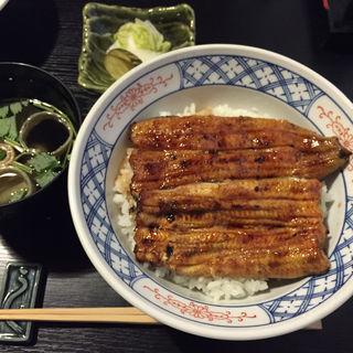 鰻丼 (肝吸い付き)竹(祇をん う (ぎおん う))