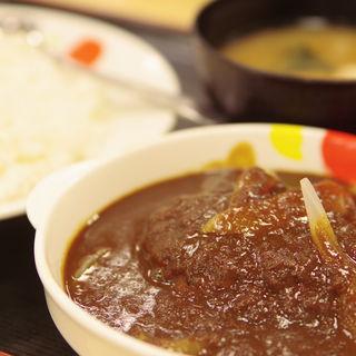 オリジナルハンバーグカレー(松屋 姫路店 )