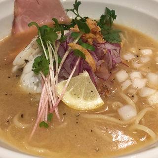 鯛の白湯冷やしラーメン(麺のようじ 海(SEA))