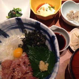 鯵のたたき丼(手作り料理とお酒 えん 新横浜店 )