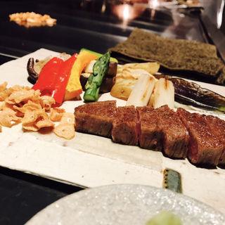 鉄板焼 ランチコース(ザ・リッツ・カールトン東京 )