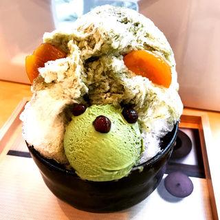 千利くまちゃん(抹茶)(ジャパニーズアイス櫻花)