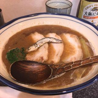 かけラーメン 大(烈志笑魚油 麺香房 三く)