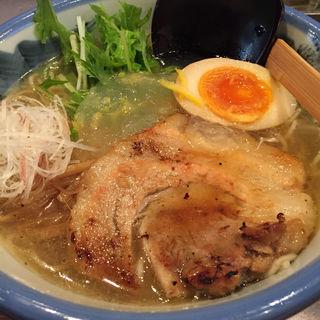 冷やしゆず塩麺(AFURI 中目黒 (阿夫利 あふり))