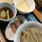 地元愛知鴨ともち大麦のつけ麺
